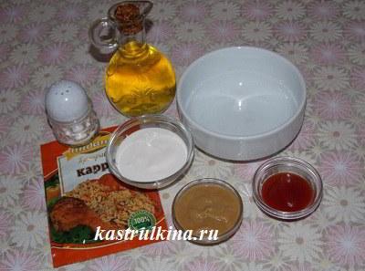 продукты для острого соуса