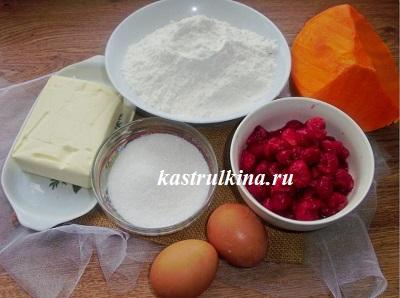 продукты для приготовления пирога