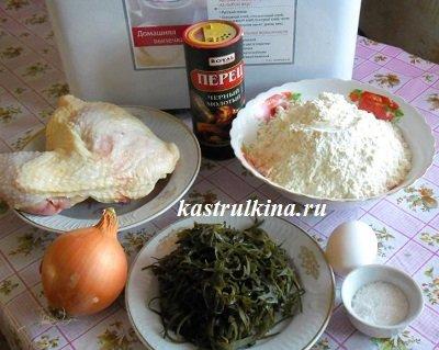 продукты для приготовления пельменей в хлебопечке
