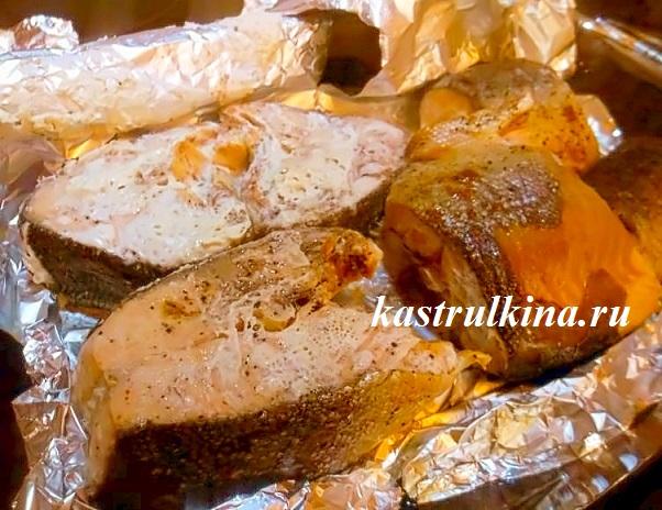 Рецепт запеченной рыбы под соусом в духовке рецепт