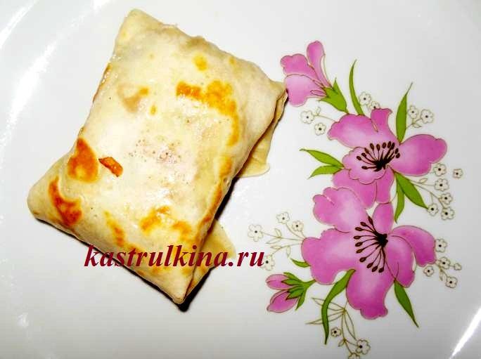 рецепт блинов с мясной начинкой фото 9