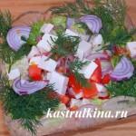 греческий салат с брынзой фото 1