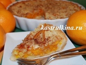 рецепт апельсиновой шарлотки