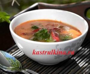 холодный томатный суп с сельдереем и имбирем