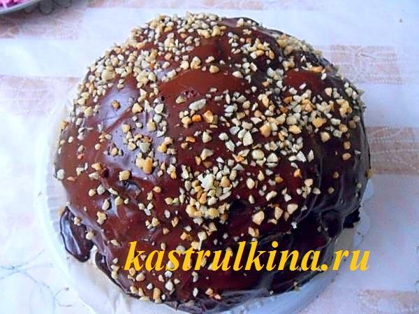 Очень вкусный домашний торт «Пенек»