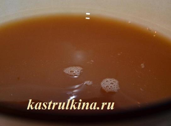 рецепт яблочно-кофейного кваса фото