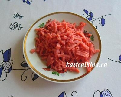 порезанная колбаса