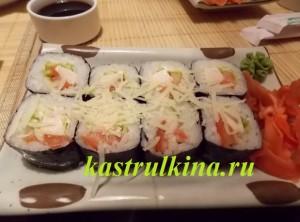 Суши с сливочным сыром рецепт с фото