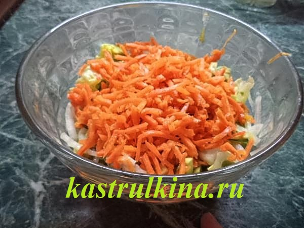 салат с авокадо и кальмарами фото 9