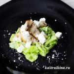 салат с грушей и брынзой