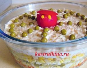 салат из консервированной кукурузы