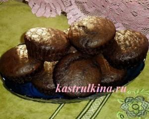 Шоколадные маффины – кулинарный мастер-класс