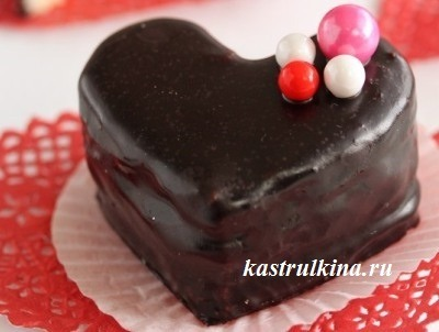 шоколадные птифуры фото