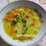 молочный суп с рисом в микроволновке