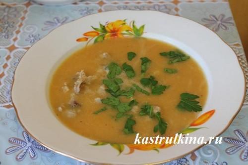 суп пбре из чечевицы с мясом