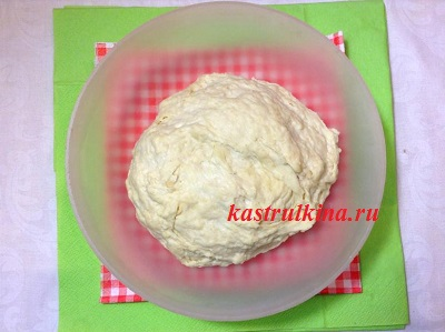 тесто для хачапури готово