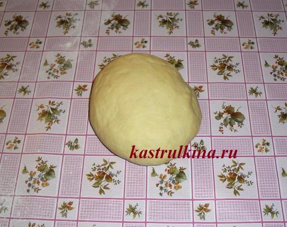 тесто для сладких вареников с начинкой из фруктов