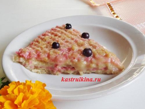 Вафельный торт из готовых коржей рецепт