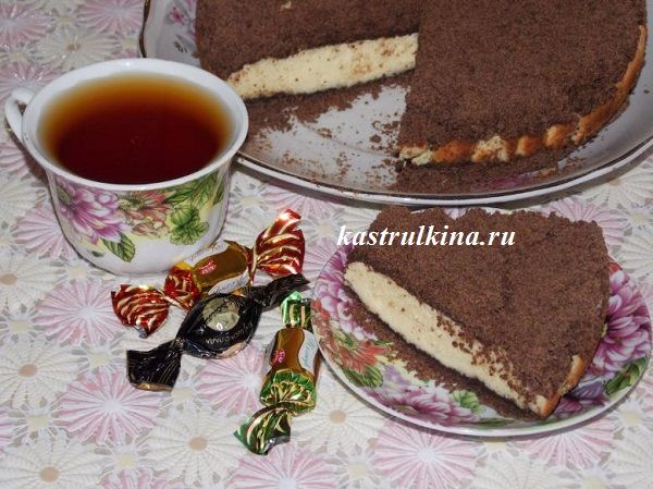 Как приготовить творожный торфяной пирог