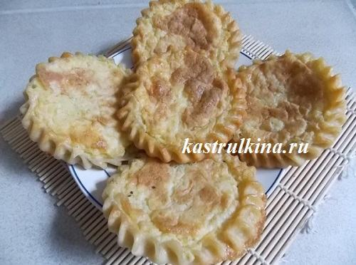 Удмуртские перепечи с картофельной начинкой