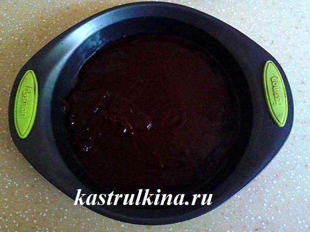 выпекаем корж с какао фото 1