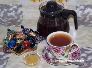 вкусный барбарисовый чай готов