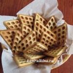 вкусное печенье с корицей в алюминиевой форме