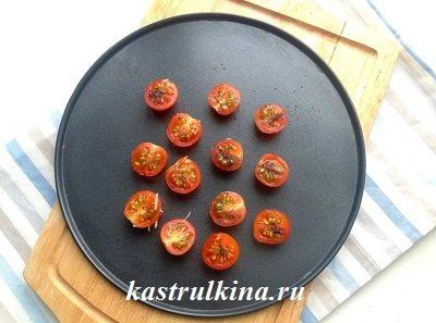 запекаем помидоры в духовке