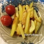 жареная картошка