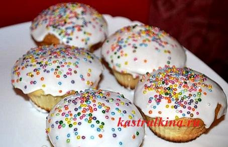 пасхальные кулич кексы рецепты с фото